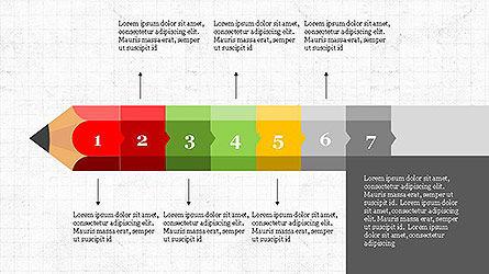 Pencil Stage Diagram Concept Slide 7