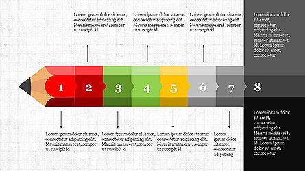 Pencil Stage Diagram Concept Slide 8