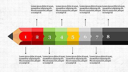 Pencil Stage Diagram Concept Slide 9