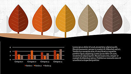 Growth of Tree Stages Diagram Concept, Slide 2, 04156, Presentation Templates — PoweredTemplate.com