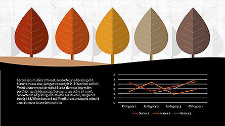 Growth of Tree Stages Diagram Concept, Slide 5, 04156, Presentation Templates — PoweredTemplate.com