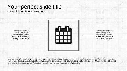 Minimalistic Icons Presentation Template, Slide 9, 04159, Icons — PoweredTemplate.com