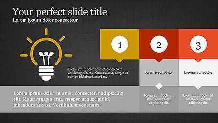 Creative Process Presentation Template, Slide 12, 04160, Stage Diagrams — PoweredTemplate.com