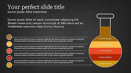 Creative Process Presentation Template, Slide 13, 04160, Stage Diagrams — PoweredTemplate.com
