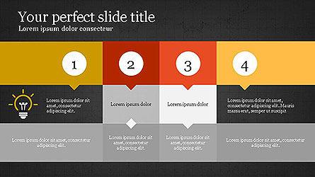 Creative Process Presentation Template, Slide 14, 04160, Stage Diagrams — PoweredTemplate.com