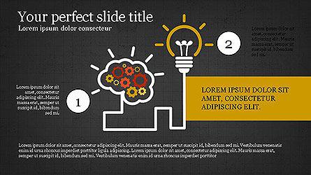 Creative Process Presentation Template, Slide 15, 04160, Stage Diagrams — PoweredTemplate.com