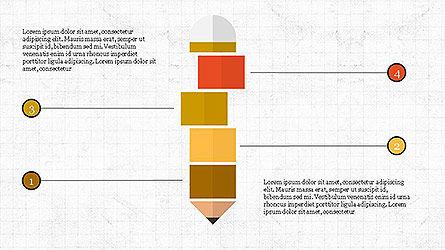 Creative Process Presentation Template, Slide 2, 04160, Stage Diagrams — PoweredTemplate.com