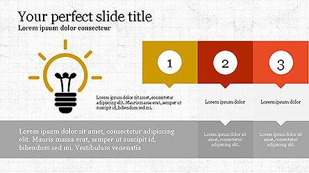 Creative Process Presentation Template, Slide 4, 04160, Stage Diagrams — PoweredTemplate.com