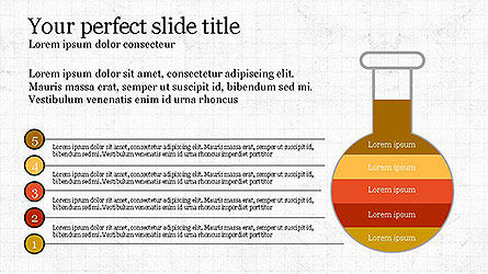 Creative Process Presentation Template, Slide 5, 04160, Stage Diagrams — PoweredTemplate.com