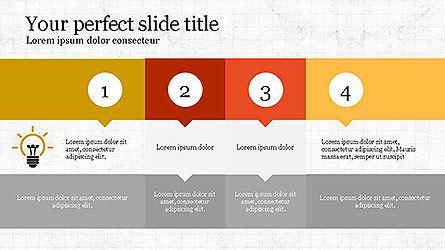 Creative Process Presentation Template, Slide 6, 04160, Stage Diagrams — PoweredTemplate.com