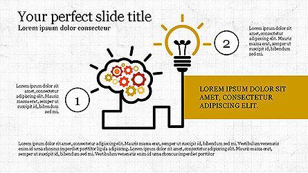 Creative Process Presentation Template, Slide 7, 04160, Stage Diagrams — PoweredTemplate.com