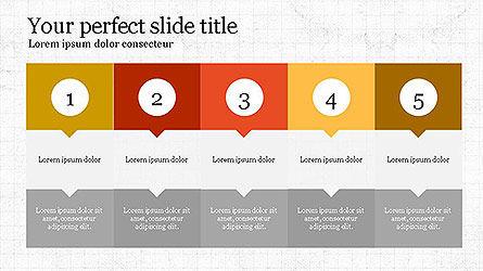 Creative Process Presentation Template, Slide 8, 04160, Stage Diagrams — PoweredTemplate.com