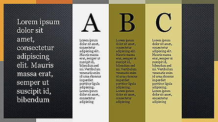 Colorful Options Presentation Template Slide 14
