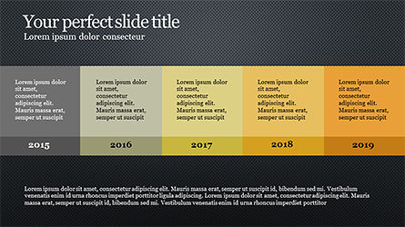 Timeline Report Concept, Slide 10, 04165, Timelines & Calendars — PoweredTemplate.com