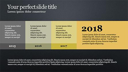 Timeline Report Concept, Slide 13, 04165, Timelines & Calendars — PoweredTemplate.com