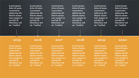 Timeline Report Concept, Slide 15, 04165, Timelines & Calendars — PoweredTemplate.com