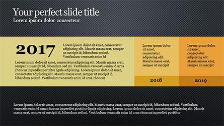 Timeline Report Concept, Slide 16, 04165, Timelines & Calendars — PoweredTemplate.com