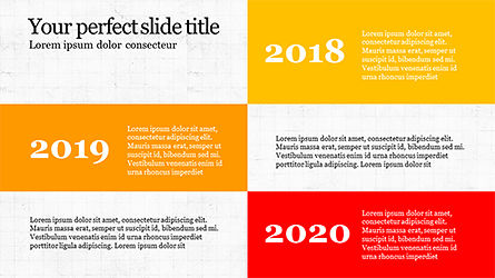 Timeline Report Concept, Slide 4, 04165, Timelines & Calendars — PoweredTemplate.com