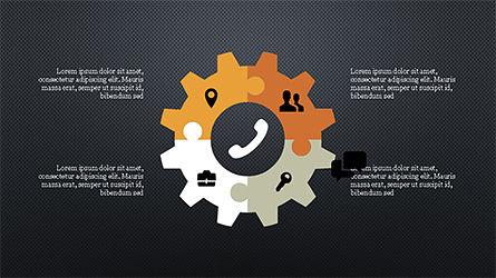 Stages and Processes Presentation Concept, Slide 12, 04167, Process Diagrams — PoweredTemplate.com
