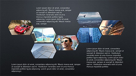 Hexagonal Presentation Template Slide 9
