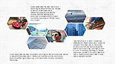 Business Models: Hexagonal Presentation Template #04170