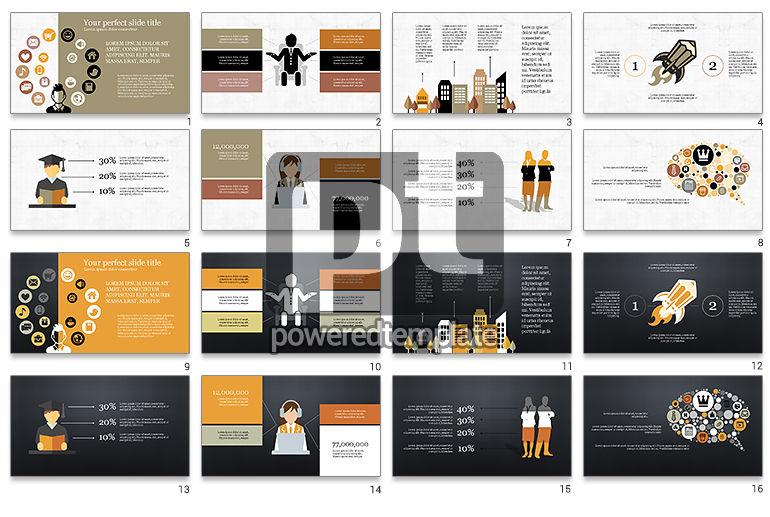 Lifestyle Presentation Infographic