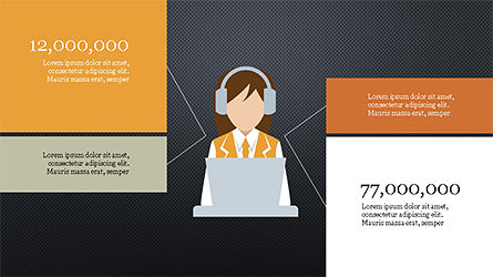 Lifestyle Presentation Infographic, Slide 14, 04175, Shapes — PoweredTemplate.com