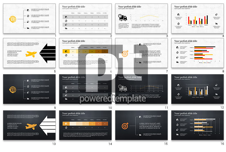 Worldwide Delivery Services Presentation Template