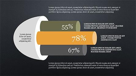 Cylinder Diagram Concepts, Slide 12, 04180, Business Models — PoweredTemplate.com