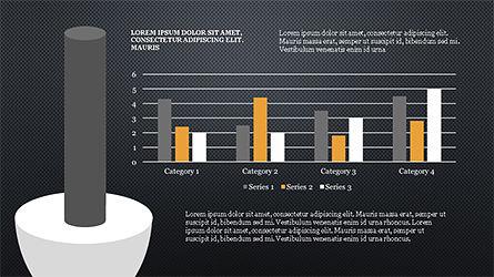 Cylinder Diagram Concepts, Slide 14, 04180, Business Models — PoweredTemplate.com