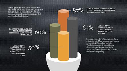 Cylinder Diagram Concepts, Slide 8, 04180, Business Models — PoweredTemplate.com
