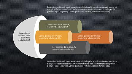 Cylinder Diagram Concepts, Slide 9, 04180, Business Models — PoweredTemplate.com