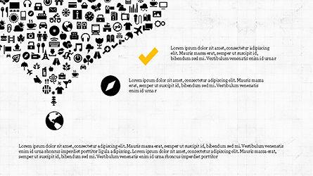 Social Marketing Presentation Concept, Slide 5, 04184, Presentation Templates — PoweredTemplate.com