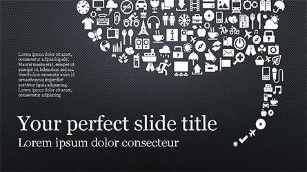 Social Marketing Presentation Concept, Slide 9, 04184, Presentation Templates — PoweredTemplate.com