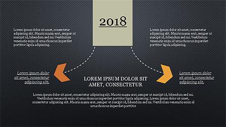 Chevron Timeline Concept, Slide 15, 04186, Timelines & Calendars — PoweredTemplate.com
