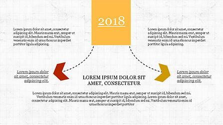 Chevron Timeline Concept, Slide 7, 04186, Timelines & Calendars — PoweredTemplate.com