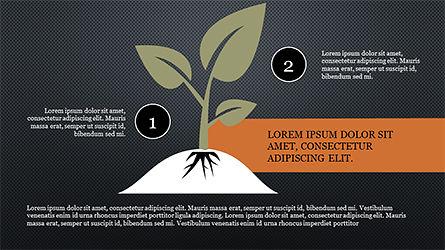 Growth Concept Diagram, Slide 15, 04191, Presentation Templates — PoweredTemplate.com