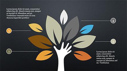 Growth Concept Diagram, Slide 9, 04191, Presentation Templates — PoweredTemplate.com