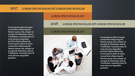 Timeline and Options Diagram, Slide 13, 04192, Timelines & Calendars — PoweredTemplate.com