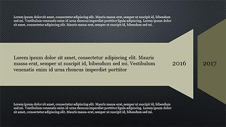 Timeline and Options Diagram, Slide 14, 04192, Timelines & Calendars — PoweredTemplate.com