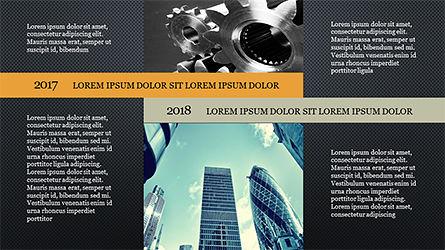 Timeline and Options Diagram, Slide 16, 04192, Timelines & Calendars — PoweredTemplate.com