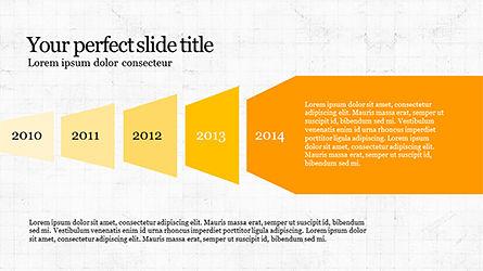 Timeline and Options Diagram, Slide 4, 04192, Timelines & Calendars — PoweredTemplate.com