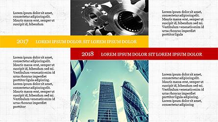 Timeline and Options Diagram, Slide 8, 04192, Timelines & Calendars — PoweredTemplate.com