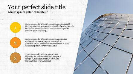 Presentation Templates: Laporan Bisnis Dek Slide #04194