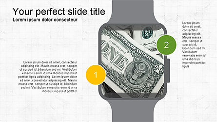 Time and Money Presentation Deck, Slide 3, 04196, Presentation Templates — PoweredTemplate.com
