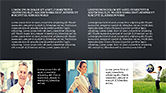 Grid Layout Style Presentation Template#16