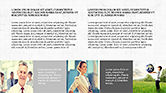Grid Layout Style Presentation Template#8