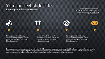 Promotion Plan Presentation Concept, Slide 11, 04206, Icons — PoweredTemplate.com