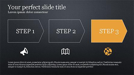 Promotion Plan Presentation Concept, Slide 12, 04206, Icons — PoweredTemplate.com