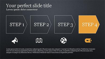 Promotion Plan Presentation Concept, Slide 14, 04206, Icons — PoweredTemplate.com